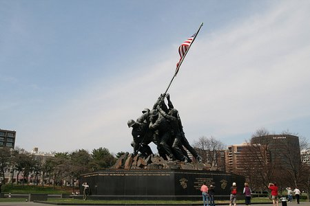 Military Debt Consolidation and US Marine Statue